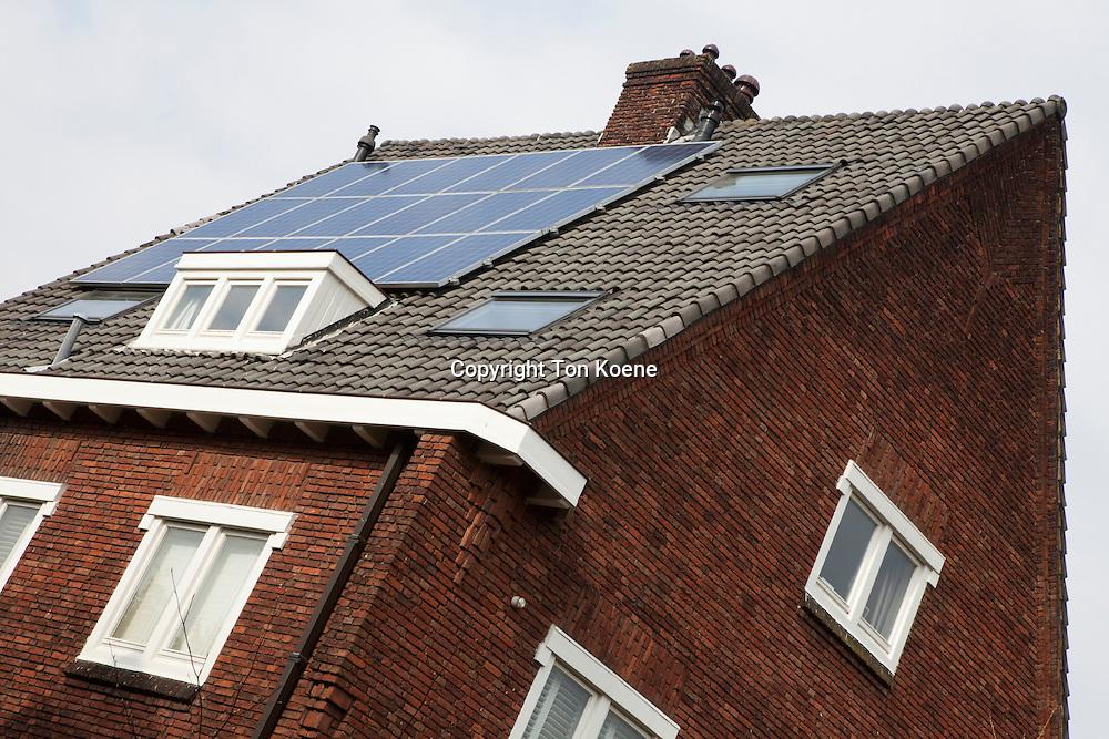 solar panels in Amsterdam