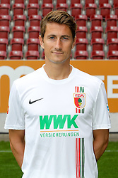 08.07.2015, WWK Arena, Augsburg, GER, 1. FBL, FC Augsburg, Fototermin, im Bild Paul Verhaegh #2 (FC Augsburg) // during the official Team and Portrait Photoshoot of German Bundesliga Club FC Augsburg at the WWK Arena in Augsburg, Germany on 2015/07/08. EXPA Pictures © 2015, PhotoCredit: EXPA/ Eibner-Pressefoto/ Kolbert<br /> <br /> *****ATTENTION - OUT of GER*****