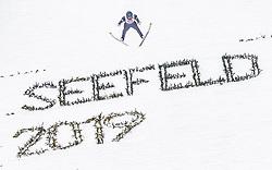 02.03.2019, Seefeld, AUT, FIS Weltmeisterschaften Ski Nordisch, Seefeld 2019, Nordische Kombination, Team Sprung, im Bild Bernhard Gruber (AUT) // Bernhard Gruber of Austria during the Team Jumping competition for Nordic Combined of FIS Nordic Ski World Championships 2019. Seefeld, Austria on 2019/03/02. EXPA Pictures © 2019, PhotoCredit: EXPA/ JFK