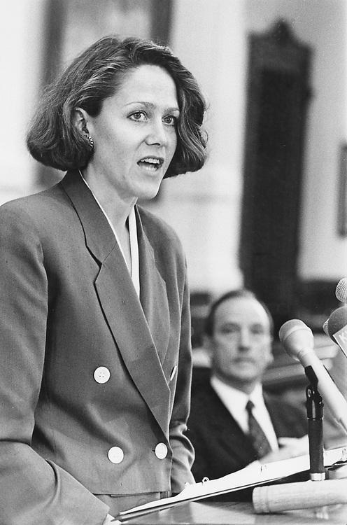 ©1991 Public Speaking:  Head of national voter registration drive speaking in Austin, Texas