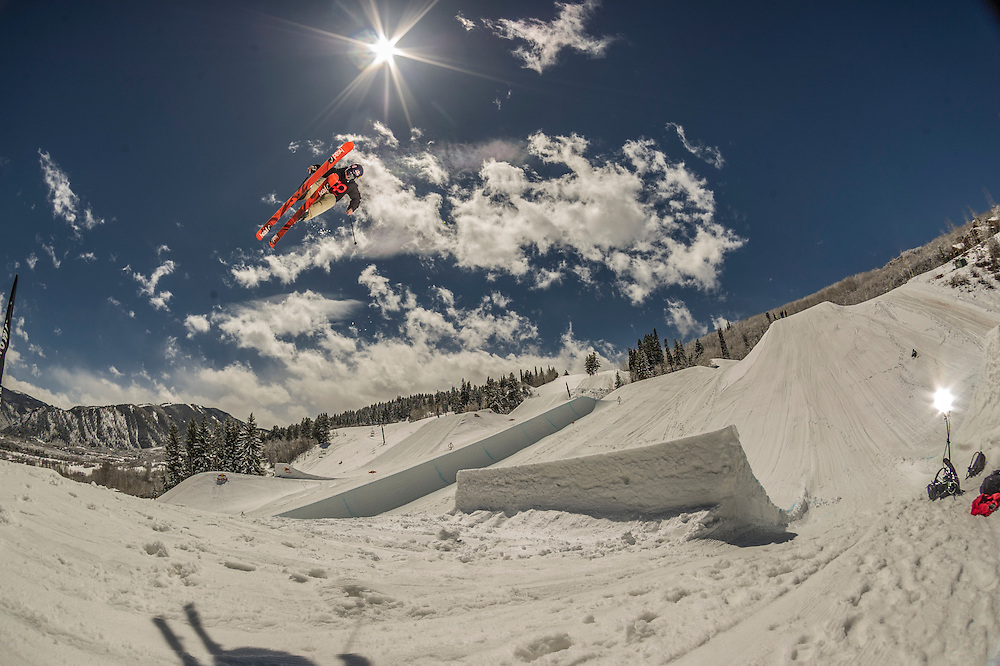 PK Hunder performs at the RedBull Performance Camp in Aspen Colorado, United States on April 14th, 2013
