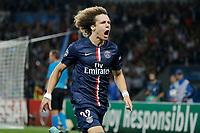 David Luiz (psg) - but - joie