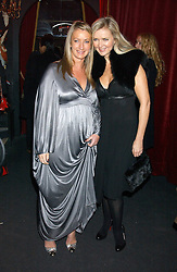 Left to right, ANYA HINDMARSH and AMANDA WAKELEY at a party to celebrate the first issue of British Harper's Bazaar held at Cirque, 10-14 Cranbourne Street, London WC2 on 16th February 2006.<br /><br />NON EXCLUSIVE - WORLD RIGHTS