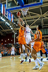 24-11-2017 NED: WC qualification Netherlands - Croatia, Almere<br /> First Round - Group D at the arena Topsportcentrum / Ivan Ramljak #27 of Croatia, Yannick Franke #0 of Netherlands