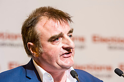 Pictured: Tommy Sheppard retains Edinburgh East for SNP<br /> The Edinburgh Count and  announcements ended  around 4:30 this morning with weary heads around all parties.<br /> <br /> Ger Harley | EEm 9 June 2017