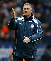 Photo: Steve Bond/Richard Lane Photography. Leicester City v Scunthorpe United. Coca Cola Championship. 13/02/2010. Nigel Pearson on the touchline