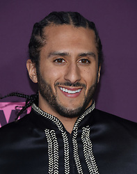 May 3, 2018 - Los Angeles, California, U.S. - Colin Kaepernick arrives for the VH1's 3rd Annual 'Dear Mama: A Love Letter to Moms' at the Theatre at the Ace Hotel. (Credit Image: © Lisa O'Connor via ZUMA Wire)