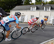 France, VEIGNE , 11 October 2009: Images from the Paris Tours Espoirs cycle race. Photo by Peter Horrell / http://peterhorrell.com...