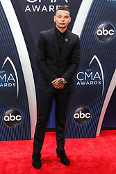 52nd Annual Country Music Association Awards hosted by Carrie Underwood and Brad Paisley and held at the Bridgestone Arena on November 14, 2018, in Nashville, TN. © Curtis Hilbun / AFF-USA.com. 14 Nov 2018 Pictured: Kane Brown. Photo credit: Curtis Hilbun / AFF-USA.com / MEGA TheMegaAgency.com +1 888 505 6342