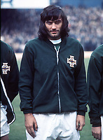 Fotball<br /> Foto: Colorsport/Digitalsport<br /> NORWAY ONLY<br /> <br /> Georg Best - døde i dag 25.11.2005<br /> <br /> GEORGE BEST (NORTHERN IRELAND) Northern Ireland v England. 15/5/1971
