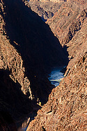 The Colorado river in the inner gorge of the Grand Canyon