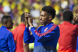 July 5, 2018 - The player Johan Mojica in the welcome to the Colombia team in the city of Bogotà (Credit Image: © Daniel AndréS GarzóN Heraz via ZUMA Wire)