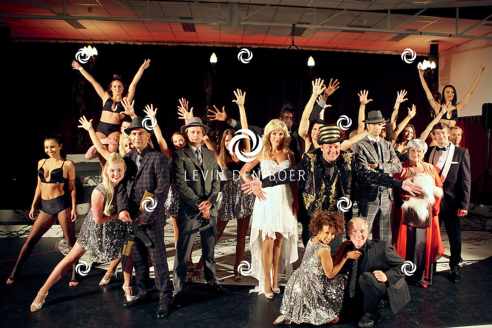 AMSTERDAM - In de Dutch Studio's is de presentatie gehouden van de nieuwe musical Yab Yum - Het Circus van de Nacht. Met op de foto de hele cast van Yab Yum de Musical. FOTO LEVIN DEN BOER - PERSFOTO.NU
