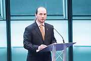 Holocaust Memorial Day <br /> A ceremony to commemorate Holocaust Memorial Day in a ceremony in the Chamber at City Hall, London, Great Britain<br /> 22nd January 2018 <br /> <br />  <br /> Mayor and Assembly join Londoners for Holocaust Memorial Day ceremony<br />  <br /> <br /> Kemal Pervanic<br /> Survivor of Bosnian Genocide