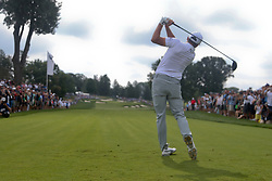 September 7, 2018 - Newtown Square, Pennsylvania, United States - Rickie Fowler tees off the 11th hole during the second round of the 2018 BMW Championship. (Credit Image: © Debby Wong/ZUMA Wire)