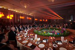Top table at The UCI Cycling Gala 2018 in Guilin, China on October 21, 2018. Photo by Sean Robinson/velofocus.com