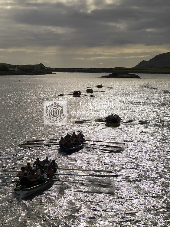 The Seine Boat Race at Portmagee regatta in County Kerry 2011..Picture by Don MacMOnagle