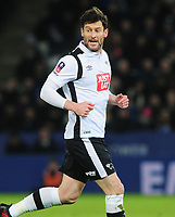 Football - 2016 / 2017 FA Cup - Fourth Round, Replay: Leicester City vs. Derby County<br /> <br /> David Nugent of Derby at King Power Stadium.<br /> <br /> COLORSPORT/ANDREW COWIE