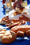 Bread from Dél Alfodi Régio (South Alfoldi ) - Hungarian Regional Gastronomic Festival 2009 - Gyor ( Gy?r ) Hungary .<br /> <br /> Visit our HUNGARY HISTORIC PLACES PHOTO COLLECTIONS for more photos to download or buy as wall art prints https://funkystock.photoshelter.com/gallery-collection/Pictures-Images-of-Hungary-Photos-of-Hungarian-Historic-Landmark-Sites/C0000Te8AnPgxjRg