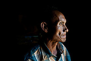 """Yaboh, 56, Chief of Pansar, thinks he may be the last Naga who still keeps a skull and maintains all of the old rituals. """"Even though I'll try to pass on all of my clan's knowledge, I worry they'll forget. One day I think they'll abandon all of the old cultural traditions, the inheritance of so many generations,"""" he said."""