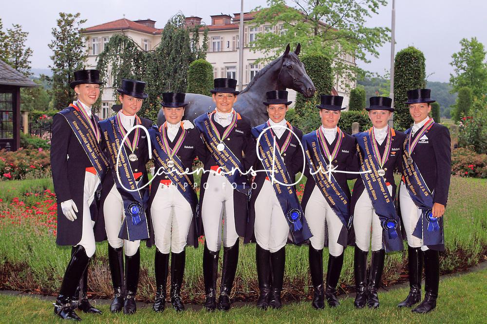 Teams Netherland Juiors and YR<br /> European Championship Junior 2010 <br /> © Hippo Foto - Leanjo de Koster