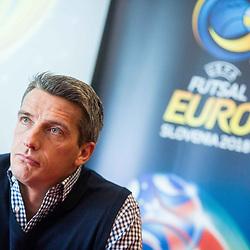 20171120: SLO, Futsal - Press conference of EURO Futsal 2018