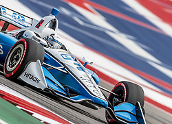 March 22, 2019 - Austin, Texas, U.S. - JOSEF NEWGARDEN (2) of the United States goes through the turns during practice for the INDYCAR Classic at Circuit Of The Americas in Austin, Texas. (Credit Image: © Walter G Arce Sr Asp Inc/ASP)