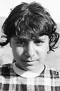 Ramona Cutitaru at the orphanage of Popricani when she was 14 in 1997