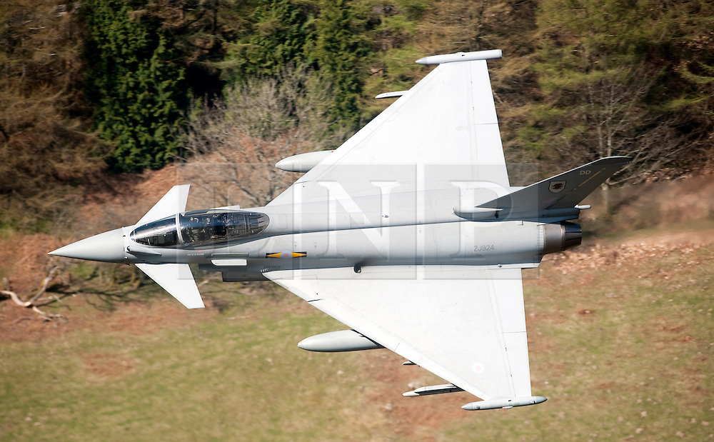 "© London News Pictures FILE PICTURE. The Typhoon F2. 18/03/11. UK, French and US warplanes are set to go into action over Libya after the UN backed ""all necessary measures"", short of an invasion, to protect civilians. Picture credit should read: Andrew Chittock/LNP"