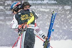 Noel Clement (FRA) with Miffat Jeandet Victor (FRA) during the Audi FIS Alpine Ski World Cup Men's  Slalom at 60th Vitranc Cup 2021 on March 14, 2021 in Podkoren, Kranjska Gora, Slovenia Photo by Grega Valancic / Sportida