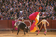 Bullfight, April Fair, Seville, Spain.