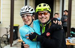 Riders during 3rd Stage from Soca to Prevalje, 230km at Day 3 of DOS 2021 Charity event - Dobrodelno okrog Slovenije, on April 29, 2021, in Slovenia. Photo by Vid Ponikvar / Sportida