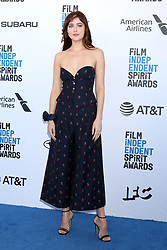 February 23, 2019 - Santa Monica, CA, USA - LOS ANGELES - FEB 23:  Dakota Johnson at the 2019 Film Independent Spirit Awards on the Beach on February 23, 2019 in Santa Monica, CA (Credit Image: © Kay Blake/ZUMA Wire)