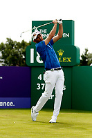 Golf - 2019 Senior Open Championship at Royal Lytham & St Annes - First Round <br /> <br /> Markus Brier (AUT) plays his drive off the 18th tee.<br /> <br /> COLORSPORT/ALAN MARTIN