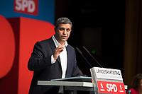 DEU, Deutschland, Germany, Berlin, 17.11.2018: SPD-Fraktionschef Raed Saleh beim Landesparteitag der Berliner SPD im Hotel Maritim.