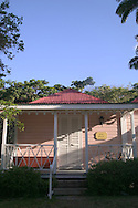 "The ""Pink House"" Luxury Cottage at The Hermitage Plantation Inn, Nevis 4/05"
