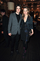 JESSE & TILLY WOOD at a party to celebrate the 135th anniversary of The Criterion restaurant, Piccadilly, London held on 2nd February 2010.