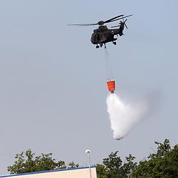 20170804: SLO, Events - Gasenje pozara s helikopterjem