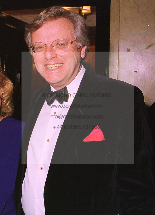 MR MICHAEL GRADE the leading TV figure, at a dinner in London on 5th November 1998.MLR 30 MORO