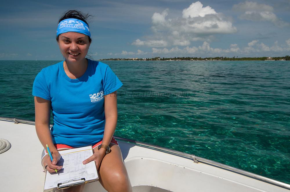 Cecilia guerrero<br /> MAR Alliance Staff<br /> Hol Chan Marine Reserve<br /> Ambergris Caye<br /> Belize<br /> Central America