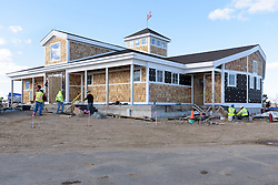 Meigs Point Nature Center at Hammonasset Beach State Park  <br /> Connecticut State Project No: BI-T-601<br /> Architect: Northeast Collaborative Architects  Contractor: Secondino & Son<br /> James R Anderson Photography New Haven CT photog.com<br /> Date of Photograph: 26 February 2016<br /> Camera View: 01