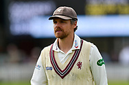 James Hildreth of Somerset during the Specsavers County Champ Div 1 match between Somerset County Cricket Club and Worcestershire County Cricket Club at the Cooper Associates County Ground, Taunton, United Kingdom on 22 April 2018. Picture by Graham Hunt.