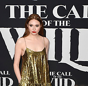 """13 February 2020 - Hollywood, California - Karen Gillan at the World Premiere of twentieth Century Studios """"The Call of the Wild"""" Red Carpet Arrivals at the El Capitan Theater."""