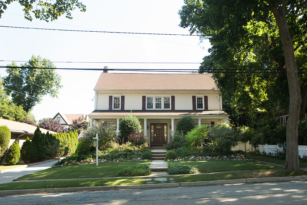 RUTHERFORD, NJ - JULY 25, 2015  The house at 102 Vreeland Avenue near Montross Avenue in Rutherford. <br /> CREDIT: John O'Boyle for The New York Times
