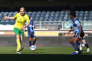 Goal  Norwich City forward Teemu Pukki (22) scores a goal from open play 0-1 during the EFL Sky Bet Championship match between Wycombe Wanderers and Norwich City at Adams Park, High Wycombe, England on 28 February 2021.