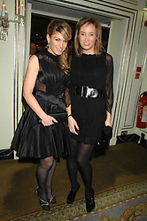 Left to right, HOFIT GOLAN and DANIELA KARNUTS at the Chain of Hope Ball held at The Dorchester, Park Lane, London on 4th February 2008.<br /><br />NON EXCLUSIVE - WORLD RIGHTS