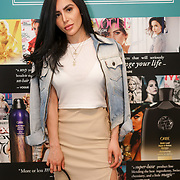 Camila Morales @camilaxmorales Avecmoilamuse.com attends the Threads & Co Beauty launches permanent retail concept store everything from coffee to beauty to retail therapy on 24th May 2017. by See Li