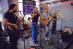 Rusted Root At Tower Records