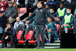 March 9, 2019 - Southampton, England, United Kingdom - Southampton Manager Ralph Hasenhuttl tells his players to keep calm during the Premier League match between Southampton and Tottenham Hotspur at St Mary's Stadium, Southampton on Saturday 9th March 2019. (Credit Image: © Mi News/NurPhoto via ZUMA Press)