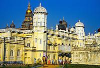 Maharaja's Palace, Mysore, Karnataka, India
